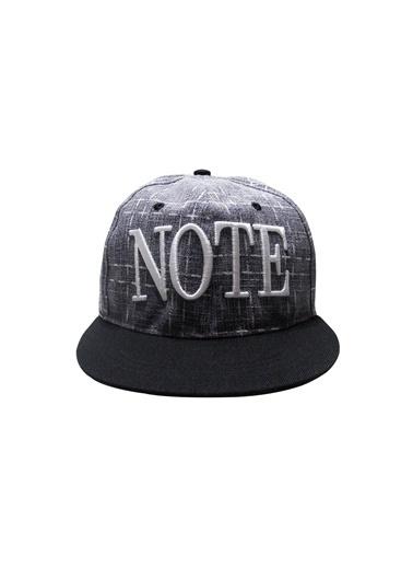 Laslusa NOTE Hip Hop Snapback Şapka Gri